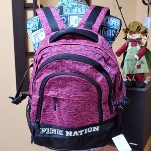 VICTORIA'S SECRET PINK NATION COLLEGIATE BACKPACK!